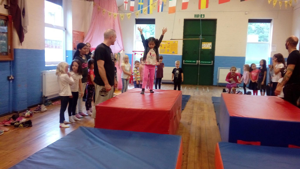 Circus skills workshop Summer 2017