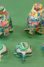 Elephants From Milk Cartons